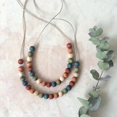 Rebecca Desnos Naturally Plant Dyed Wooden Beads Necklace Multicolour 3 (1000px).jpg