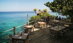 Rockhouse hotel, Terrace in Negril, Jamaica