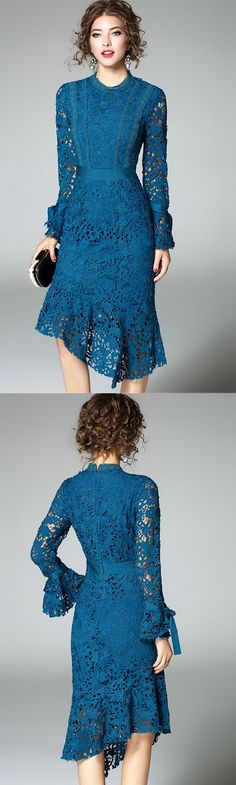 Women's Going out Cute Sheath Dress,Embroidered Crew Neck Midi Long Sleeves Dres. - - Women's Going out Cute Sheath Dress,Embroidered Crew Neck Midi Long Sleeves Dress Source by LightInTheBox Trendy Clothes For Women, Trendy Dresses, Nice Dresses, Fashion Dresses, Fashion Night, Party Fashion, Winter Fashion, Junior Party Dresses, Dress Party