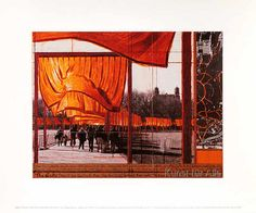 Christo und Jeanne-Claude - The Gates XXVI - Project for Central Park