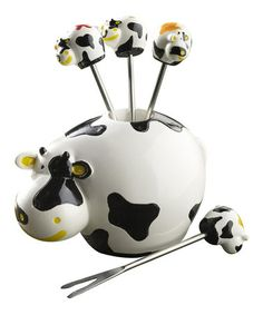 This Cow Party Pic Set is perfect! #zulilyfinds