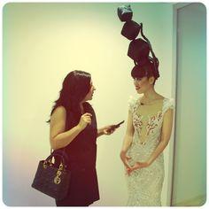 Jessica Minh Summer Fashion Show in Seville Interview to @JessicaMinhAnh