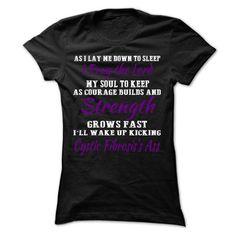 Strength - Cystic Fibrosis - #tie dye shirt #tshirt ideas. THE BEST => https://www.sunfrog.com/LifeStyle/Strength--Cystic-Fibrosis-Ladies.html?68278
