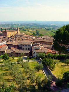 San Gimignano Sienna Italy