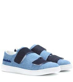 Acne Studios Triple Denim Sneakers For Spring-Summer 2017