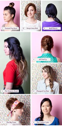"Hair Styles For Hot Weather - Best Summer Hairstyles 2012    I'm going to do ""All Tied Up"" for Hayley's wedding, if the weather's gross and humid. Which it probably will be."