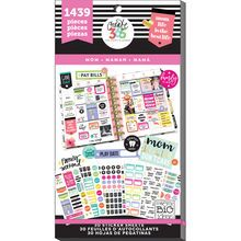 $20 Create 365™ The Happy Planner™ Mom Life Value Pack Stickers