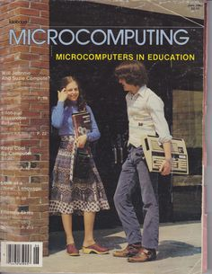 Microcomputing Magazine June 1980. The Prototype Tablet Computer in 1980.