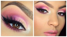 Maquillaje Rosado Fuscia - Primavera 2016   AbrilDoesMakeup ♡