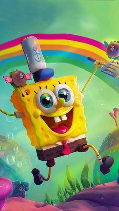 Spongebob Iphone Wallpaper, Disney Phone Wallpaper, Wallpaper Iphone Cute, Aesthetic Iphone Wallpaper, Wallpaper Wallpapers, Wie Zeichnet Man Spongebob, Spongebob Cartoon, Spongebob Drawings, Spongebob Background