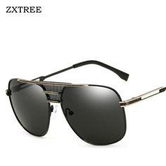 462ffd311c099 LVVKEE 2017 Brand Designer Oversized Men Sunglasses Vintage Metal Frame  Square Sun Glasses for Women Oculos de sol Masculino