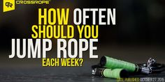 How often should you jump rope each week? It's a common question we get at Crossrope. We use these 5 questions to determine your optimal jumping volume...