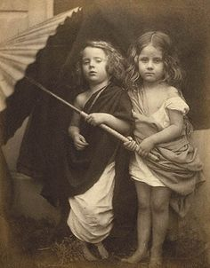 Photographed in 1865 by Julia Margaret Cameron