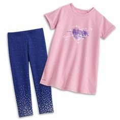 American Girl Comfy Space PJs for Girls