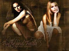 Faith & Buffy - buffy-vs-faith Fan Art