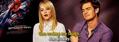 A Few Quotes From Emma Stone And Andrew Garfield About Love