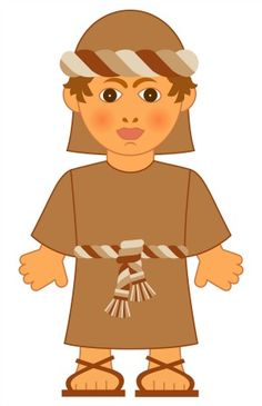 The Jewish boy  - Isaac from the biblical stories