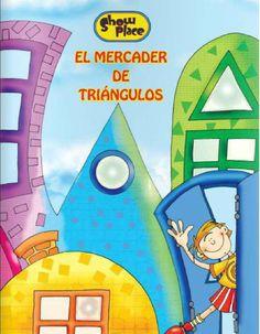 El mercader de triángulos  Cuentos infantiles. Figuras geométricas.