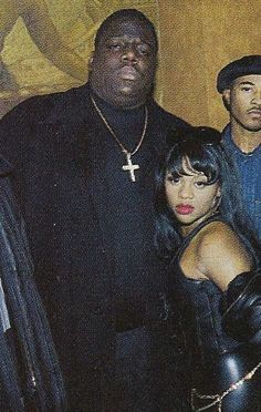 (The Real) Lil Kim and Biggie 90s Hip Hop, Hip Hop And R&b, Hip Hop Rap, Lil Kim And Biggie, Lil Kim 90s, Old School Pictures, Marilyn Monroe, Estilo Hip Hop, Looks Hip Hop