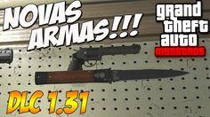 NOVAS ARMAS SINITRAS !!!  GTA V DLC EXECUTIVOS E OUTROS CRIMINOSOS  1.31...