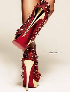 Christian Louboutin at L´Edito Magazine 04 Février 2012 #Fashion Ouch!