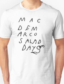 0c1c617ec Mac Demarco Salad Days logo T-shirt Unisexe Mac Demarco Shirt, Harry Styles  T