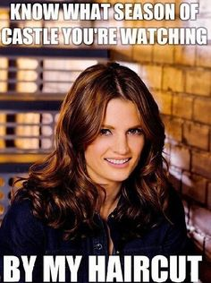 Beckett. Castle tv show.