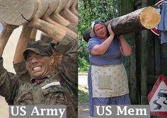 Us army, us mem