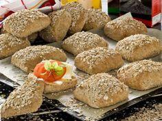 dinkelfrallor Rage, Hamburger, Recipies, Breakfast, Desserts, Hem, Watches, Bread, Recipes