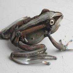 Scrap Metal Frog