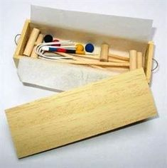 Jane Harrop looks at the history of lawn games and shows us how to create our very own miniature croquet set. ...
