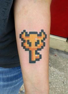 Zelda master key tattoo - I wouldn't get it personally but it's cool :)