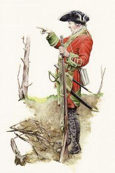 SYW- Britain: British 39th (Dorsetshire) Regiment of Foot 1757.
