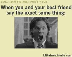 hahaha all the time!! @abby jantz