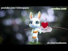 """Зайка ZOOBE """"Спокойной ночи, хорошего сна"""" - YouTube"""