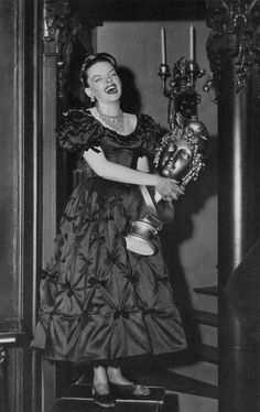 Judy Garland laughing on the set of The Pirate