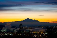 Mt. Baker at Dawn from West Vancouver ...  #blurrdMEDIA #photography