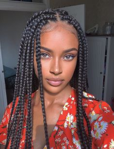natural makeup, glowy makeup, bold brows Easy Hairstyles For Medium Hair, Braided Hairstyles For Black Women, Box Braids Hairstyles, Hairstyles Videos, Hairstyles 2018, Trending Hairstyles, African Hairstyles, Hair Videos, Short Hair Styles Easy