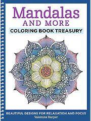 Painting Drawing - Coloring - Mandalas & More Coloring Book Treasury