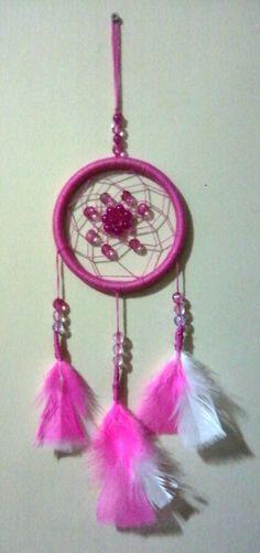 Pink Dream Catcher, Pink, Home Decor, Dream Catchers, Dreamcatchers, Decoration Home, Room Decor, Pink Hair, Home Interior Design
