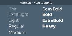 Raleway Font Raleway Typeface Free Fonts And Web Fonts | RumFord