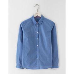 Boden Das klassische Hemd Blau Damen Boden