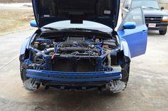 stripped WRX Wrx, Beast, Vehicles, Blue, Vehicle, Tools