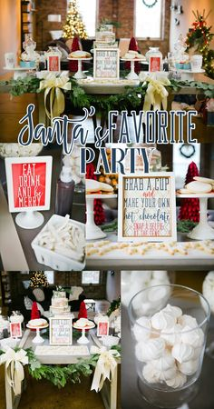 Christmas Party Ideas on a budget, Printables from Party Box Design