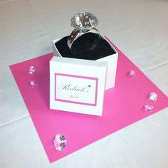 Bridal shower centerpiece