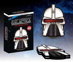 FabGearUSA - Battlestar Galactica Cylon Centurion Coasters Set of 4, $12.95 (http://www.fabgearusa.com/battlestar-galactica-cylon-centurion-coasters-set-of-4/)
