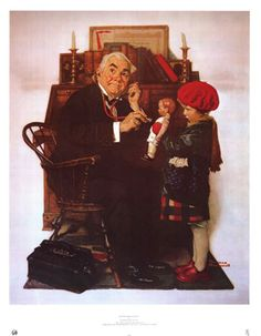 I love Norman Rockwell.