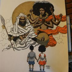 Photos and videos by markusprime_ ( Black Girl Art, Black Women Art, Art Girl, African American Art, African Art, Black Anime Characters, Cartoon Characters, Black Art Pictures, Black Cartoon
