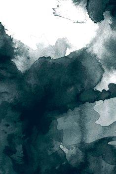 Dark Green Watercolor Marble Throw Pillow