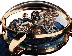 Jacob and Co. unveils the incredibly complicated Astronomia Sky Celestial Panorama Gravitational Triple Axis Tourbillion